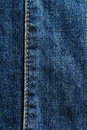 Blue jean detail Royalty Free Stock Images