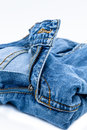 Blue jeans Royalty Free Stock Photography
