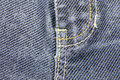 Blue jeans background close up Stock Photo