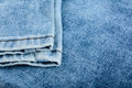 Blue jeans close up of texture of as background Royalty Free Stock Images