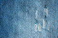 Blue jeans fabric texture Royalty Free Stock Photo