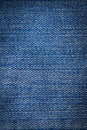 Blue jeans texture close up Royalty Free Stock Photo