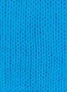 Blue knitted background texture pigtail for design Royalty Free Stock Images