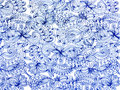 Blue Lace Pattern