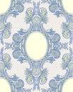 Blue Lace. Wallpaper Pattern. Royalty Free Stock Photo
