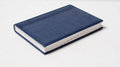 Blue laconic diary on a white background Stock Photo