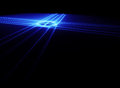 Blue laser Royalty Free Stock Photos