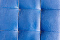 Blue leather tile texture Royalty Free Stock Photo