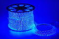 Blue light led belt led strip waterproof blue led light strips energy saving lamp after tungsten lamp fluorescent lamp energy Royalty Free Stock Photography