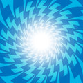 Blue Lightening electric spark discharge design for abstract background concept