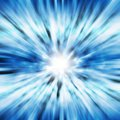 Blue lighting blast Royalty Free Stock Photography