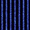 Blue lightning pattern Royalty Free Stock Photos