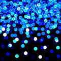 Blue lights Stock Photography