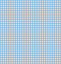 Blue line graph paper Royalty Free Stock Image