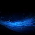 Blue line progetta Immagini Stock