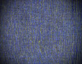 Blue linen texture background with vignette Stock Photography