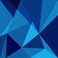 Blue low poly design element background