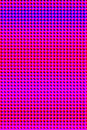 Blue magenta halftone Royalty Free Stock Images