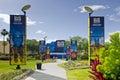 Blue Man Group Florida Royalty Free Stock Photo