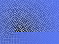 Blue Maze Background Stock Photo