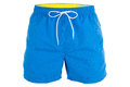 Blue men shorts for swimming Royalty Free Stock Photo