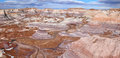 Blue Mesa at Petrified Forest National Park, Arizona USA Royalty Free Stock Photo