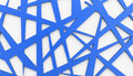 Blue meshes background rendered on white Stock Photos