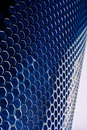 Blue Metal Mesh Royalty Free Stock Photos