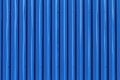 Blue metal siding wall texture Royalty Free Stock Photo