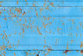 Blue metal wall rust background texture Stock Photos