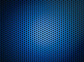 Blue metallic grid or grille background Royalty Free Stock Photo