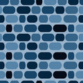 Blue mosaic Royalty Free Stock Photos