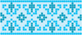 Blue Mosaic Royalty Free Stock Images