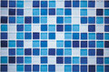 Blue mosaic Royalty Free Stock Photo