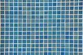Blue Mosaic background Royalty Free Stock Photography