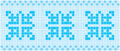Blue mosaic image of rectangles good for background and pattern for graphical composition Stock Photo