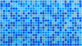 Blue mosaic tiles Royalty Free Stock Photo