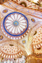Blue Mosque dome Royalty Free Stock Photo