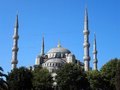 Blue mosque istanbul the called sultanahmet camii in turkish is an historical in the is known as the Stock Image
