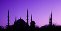 Blue Mosque in Istanbul, Turkey Stock Photography