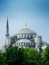 Blue mosque in istanbul turkey Royalty Free Stock Photo