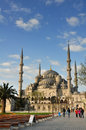 Blue mosque in istanbul turkey Stock Photo