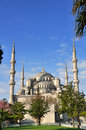 Blue mosque in istanbul turkey Stock Photography