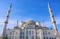 Blue mosque istanbul the turkey Stock Photo