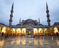 The blue mosque in istanbul turkey or sultan ahmed camii sultanahmet camii people picture is not visible Stock Images