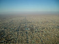 Blue mosque mazar e sharif afghanistan in the center of city in the country of Stock Photography