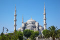 Blue Mosque (Sultanahmet Camii) in Istanbul. Royalty Free Stock Photo