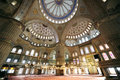 Blue Mosque or Sultanahmet Mosque Royalty Free Stock Photos