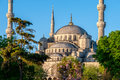 Blue Mosque view Royalty Free Stock Photo