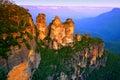 Modrý hora, austrálie